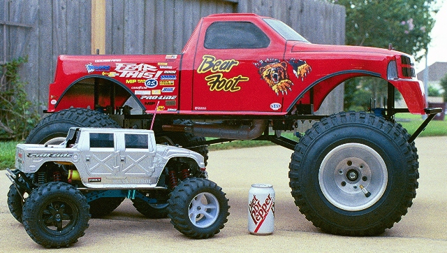 Big foot monster truck 1 5 scale pictures to pin on pinterest
